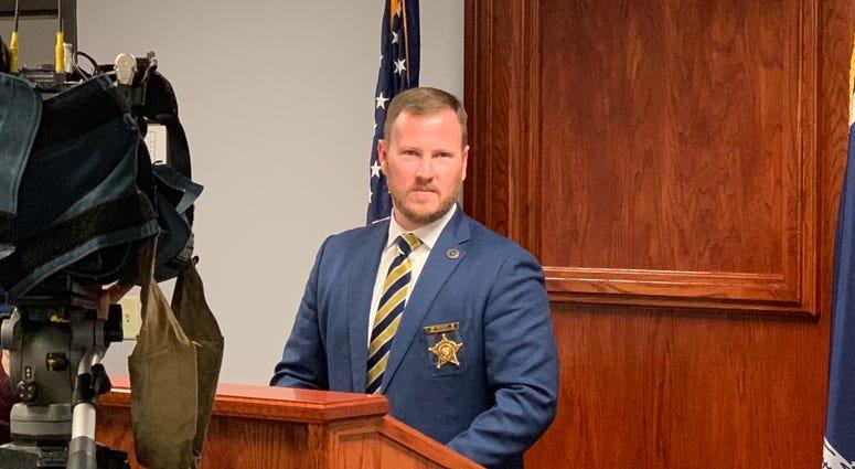 Anderson County Sheriff Chad McBride - File Photo
