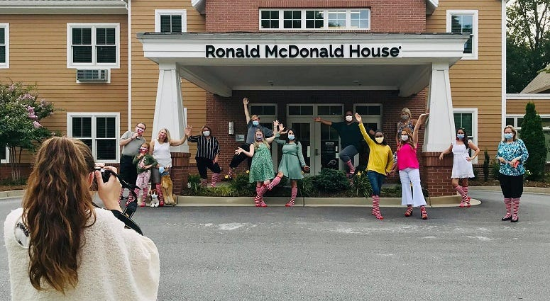 Ronald McDonald House 3rd Annual Stripes Event Ambassadors
