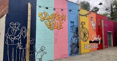 Simpsonville Mural