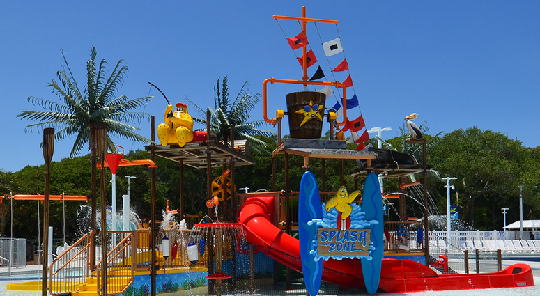 Splash Zone at Ocean Lakes Family Campground - Photo Courtesy of OCFG Page