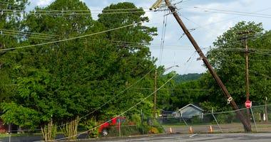 Accident West Poinsett St., Greer