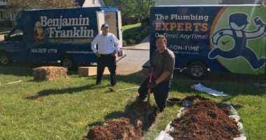 The Plumbing Experts Plumbers at Work