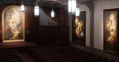 War Memorial Chapel at Bob Jones University