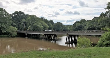 Bridge over Saluda River near Piedmont SC - file photo