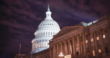 The United States Capitol Dome and the U.S. Senate