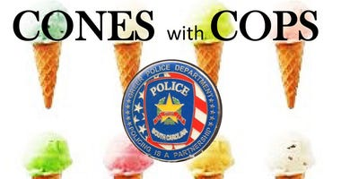 Cones with Cops Greer