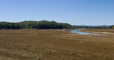 Drought at Lake Hartwell