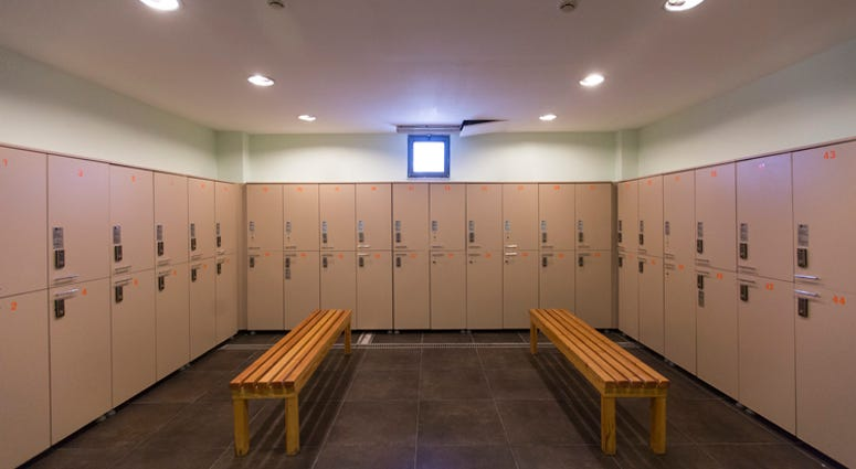 Empty Locker Room - Getty Images