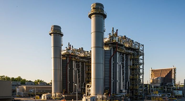 WS Lee combined cycle natural gas electricity generating station