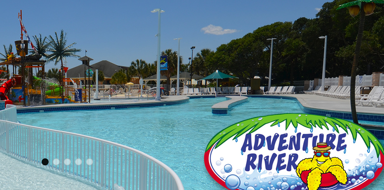 Adventure River - Photo Courtesy of Ocean Lakes Family Campground
