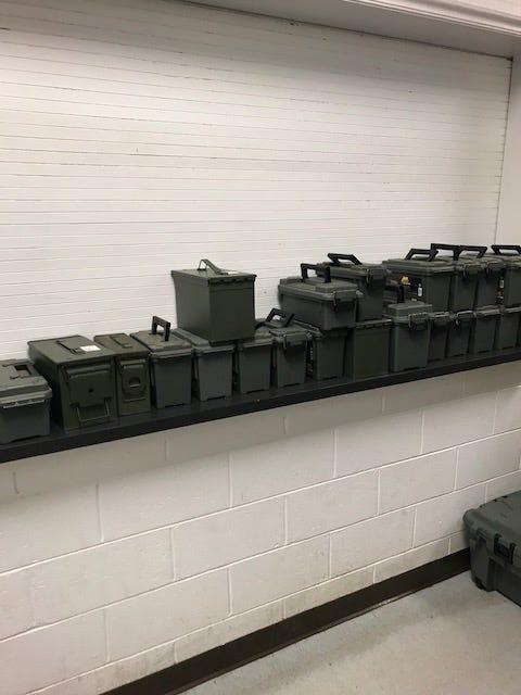Ammunition Boxes Seized