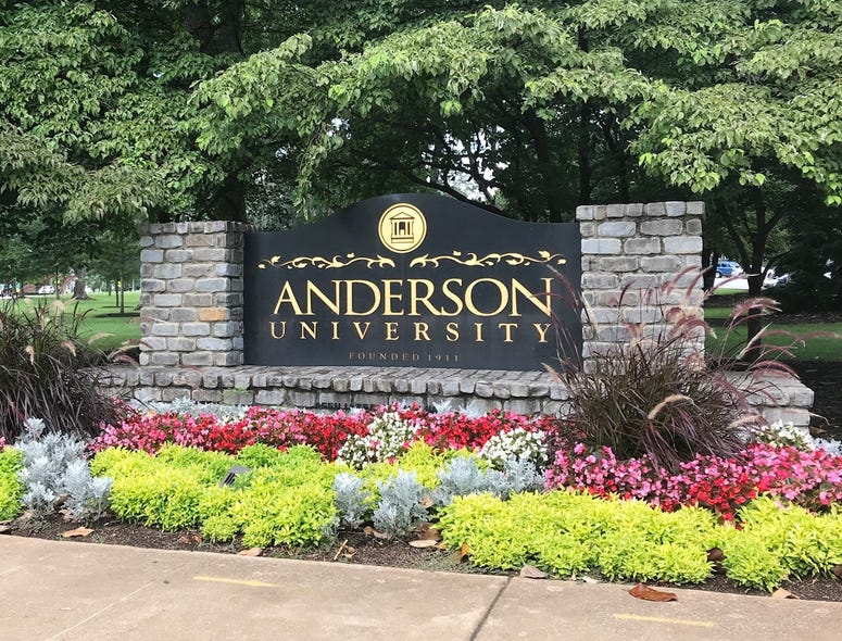Anderson University - file photo