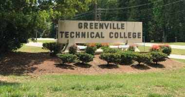 Greenville Technical College Sign