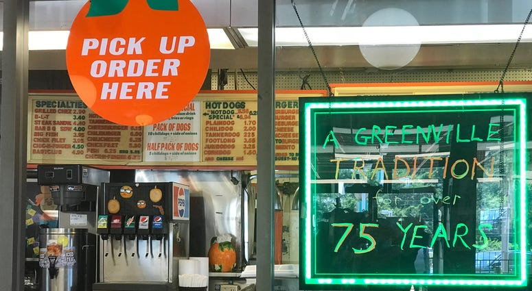 Signs Inside Tanner's Big Orange - Emily Gill