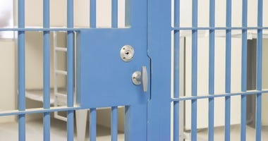Blue Jail Cell