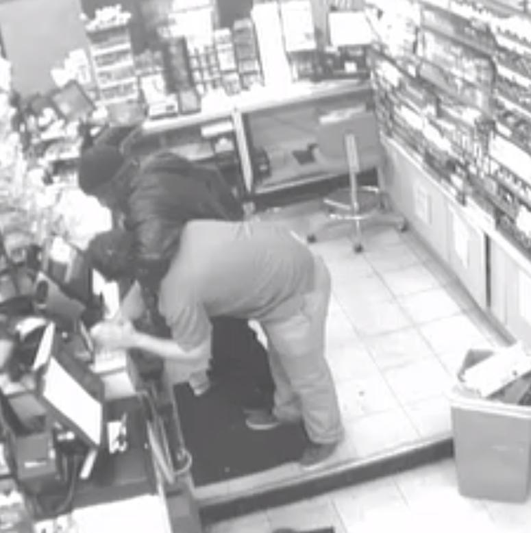 Kangaroo Convenience Store Suspect