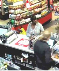 Suspect who used stolen card at QT gas station on Clemson Blvd.