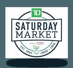 TD Saturday Market 2019 logo