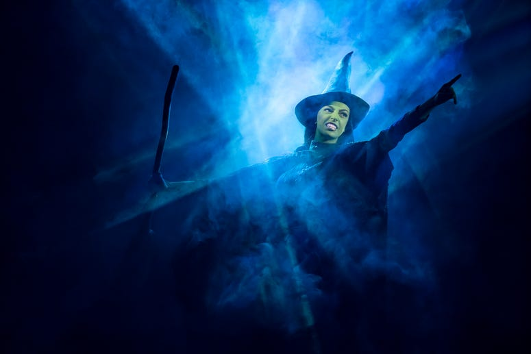 Talia Suskauer as Elphaba in the North American Tour of WICKED. Photo by Joan Marcus.