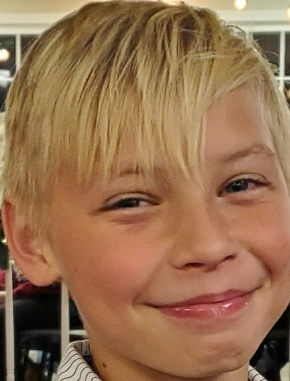 Tristan Freeman; walked away from Collins Children's Home, Sunday 1/12/2020