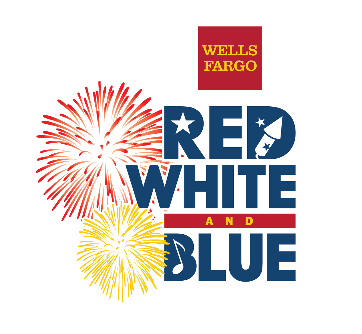 Wells Fargo Red, White & Blue