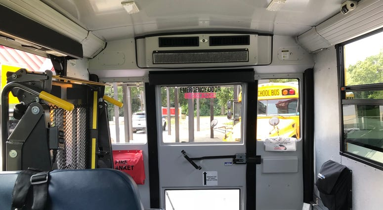 Wheelchair Access Section of Bus - Emily Gill