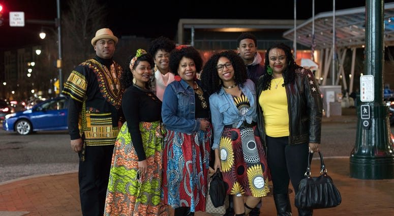 African Fashion On Display At Early Black Panther Shows 106 3 Word
