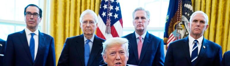 Trump Signs $2.2T Coronavirus Relief Bill