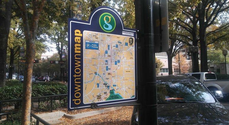 greenville map