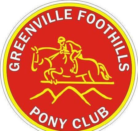 Greenville Foothills Pony Club logo