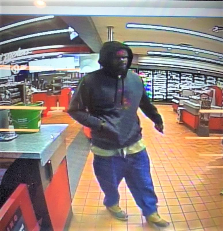 Male suspect in Mauldin Rd. gas station hold up