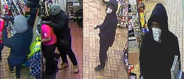 Speedway gas station robbey suspects