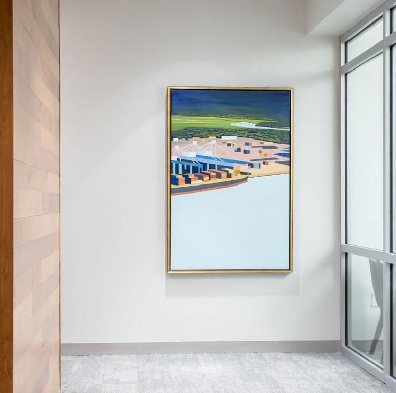 Port II by Kate Hooray Osmond hangs at SCPA.