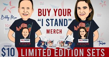 """Buy Your """"I STAND"""" Gear"""