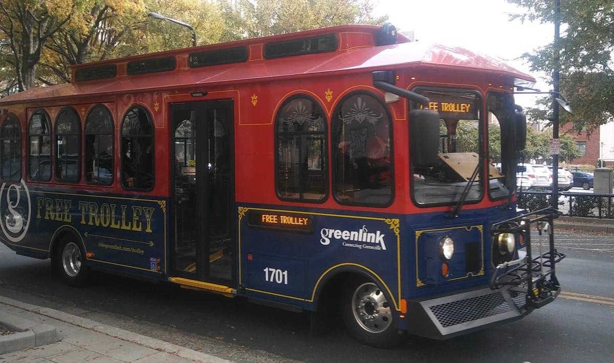 Greenlink Trolley