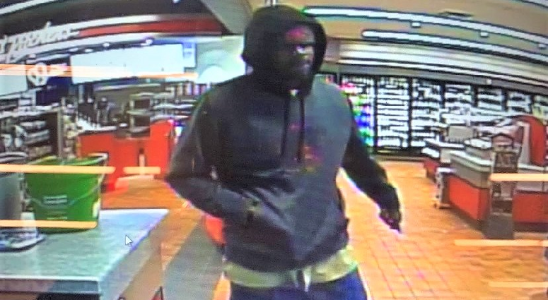 gas station suspect