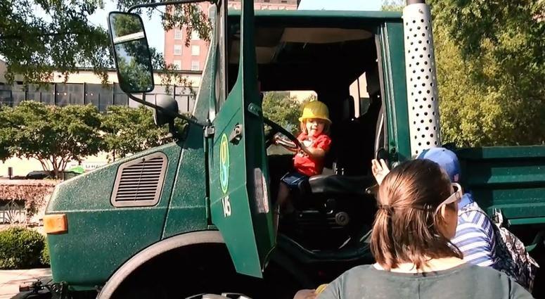 Penske Touch-A-Truck day