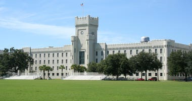 The Citadel in Charleston South Carolina