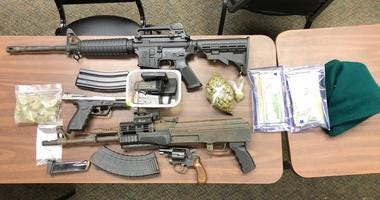 Items recovered in December drive by shootings in Greenwood