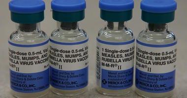 Measles outbreak vaccine