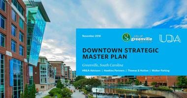 Greenville's downtown master plan
