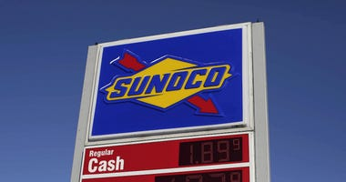 Sunoco Gas Station sign