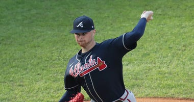 The Braves sent Sean Newcomb to the Alternate Training Site following Monday's loss