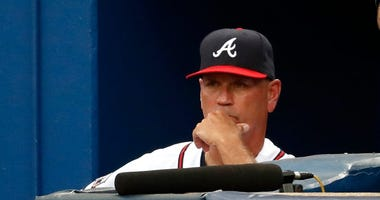 Atlanta Braves Manager Brian Snitker