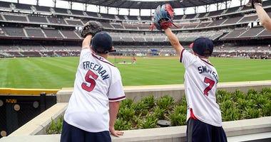 Atlanta Braves fans at Truist Park