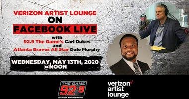 Atlanta Braves Legend Dale Murphy Facebook Live