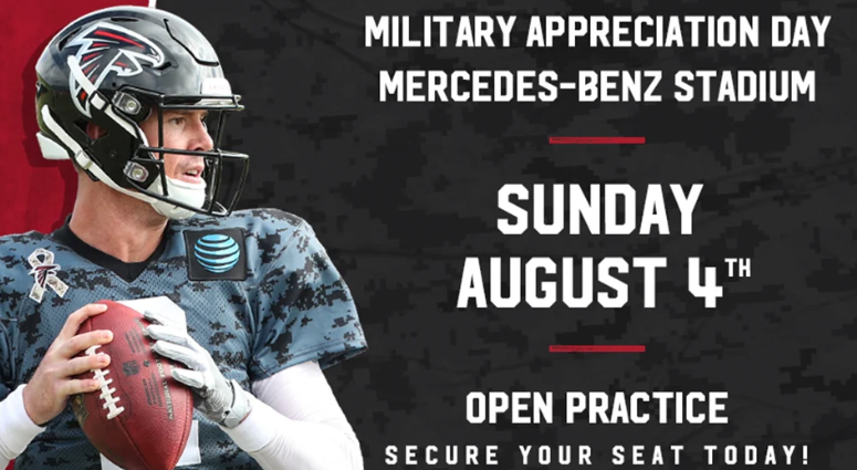 Atlanta Falcons 2019 Military Appreciation Day
