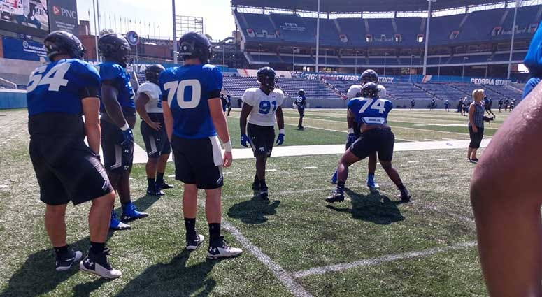 Georgia State Football prepares for Tennessee