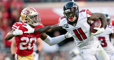 Harry Douglas says that the Falcons won't give up on this season