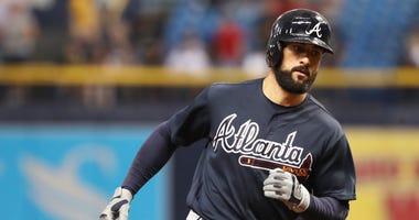 Atlanta Braves right fielder Nick Markakis